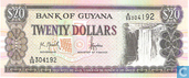 Guyana 20 Dollars ND (1996)