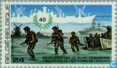 Timbres-poste - Belgique [BEL] - Libération 1945