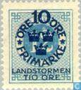 Postage Stamps - Sweden [SWE] - 10 + TIO # 12 blue