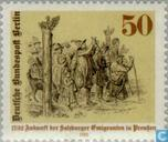 Postage Stamps - Berlin - Salzburger emigrants