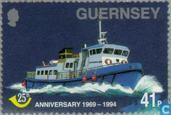 Timbres-poste - Guernesey - Post Connexion 1969-1974