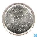 """Coins - Vatican - Vatican 500 lire 1963 """"Sede Vacante"""""""