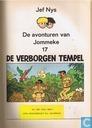 Comic Books - Jeremy and Frankie - De verborgen tempel