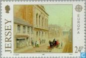 Postage Stamps - Jersey - Europe – Post offices