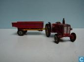 Voitures miniatures - Husky - BM Volvo Tractor met aanhanger
