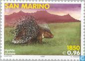 Postzegels - San Marino - Zoogdieren