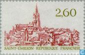Timbres-poste - France [FRA] - Vue de la ville de Saint-Emilion