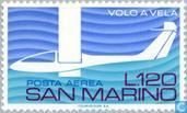 Timbres-poste - Saint-Marin - Vol à voile