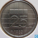 Coins - the Netherlands - Netherlands 25 cents 1983