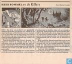 Strips - Bommel en Tom Poes - Heer Bommel en de killers