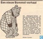 Strips - Bommel en Tom Poes - Een nieuw Bommel-verhaal