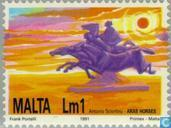 Postage Stamps - Malta - Arts, culture and nature