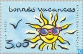 Postage Stamps - France [FRA] - Happy Holiday