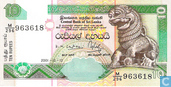 Billets de banque - Central Bank of Sri Lanka - 10 roupies Sri Lanka