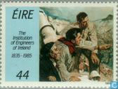 Postage Stamps - Ireland - Professional Association of Engineers 150 years