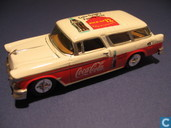 Model cars - Johnny Lightning - Chevrolet Nomad 'Coca-Cola'