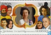Postage Stamps - Guernsey - Europe – Famous women