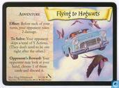 Trading cards - Harry Potter 5) Chamber of Secrets - Flying to Hogwarts