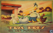 Comic Books - Bumble and Tom Puss - Tom Poes en het monster ei