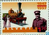 Postage Stamps - Switzerland [CHE] - Swiss railways 150 years