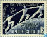 Briefmarken - Österreich [AUT] - World Gewerkschaften