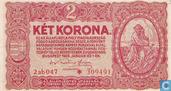 Banknoten  - Ungarn - 1920-1925 State Notes of the Ministry of Finance Issue - Ungarn 2 Korona 1920 (P58a2)
