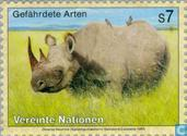 Timbres-poste - Nations unies - Vienne - Les animaux en voie de disparition