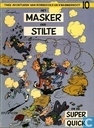 Comic Books - Spirou and Fantasio - Het masker der stilte en De Super Quick