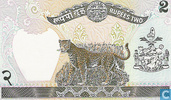 Bankbiljetten - Central Bank of Nepal - Nepal 2 Rupees