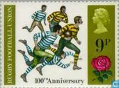 Postage Stamps - Great Britain [GBR] - Rugby union