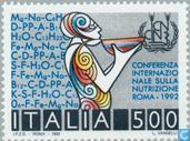 Postage Stamps - Italy [ITA] - Food Conference