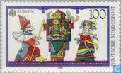 Postzegels - Duitsland, Bondsrepubliek [DEU] - Europa – Kinderspelen