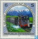 Timbres-poste - Autriche [AUT] - 100 ans de fer à crémaillère