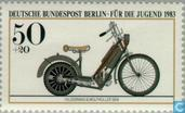 Postage Stamps - Berlin - Engines