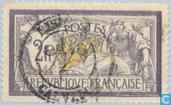 Postzegels - Frankrijk [FRA] - Allegorie (Type Merson)