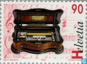 Postage Stamps - Switzerland [CHE] - Music boxes and automatons