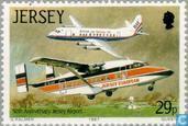 Postzegels - Jersey - Luchthaven