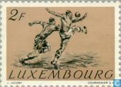 Briefmarken - Luxemburg - Olympische Spiele