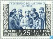 Postzegels - Italië [ITA] - Patriotten van Belfiore