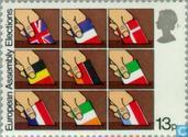 Postage Stamps - Great Britain [GBR] - European Elections