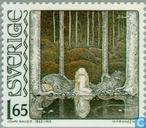 Timbres-poste - Suède [SWE] - John Bauer