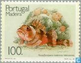 Postzegels - Madeira - Vissen