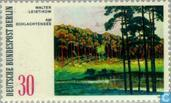 Postage Stamps - Berlin - Landscape Paintings