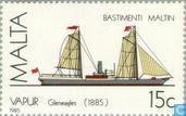 Postzegels - Malta - Schepen