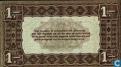 Bankbiljetten - Zilverbon Nederland - 1 gulden Nederland 1920