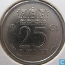 Coins - the Netherlands - Netherlands 25 cents 1961