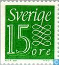 Postage Stamps - Sweden [SWE] - Green 15
