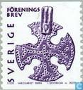 Postage Stamps - Sweden [SWE] - Brev violet / white