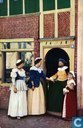 Cartes postales - Amersfoort - Amersfoort 700 jaar - Gezellig praatje op de Havik