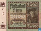 Germany 5000 Mark
